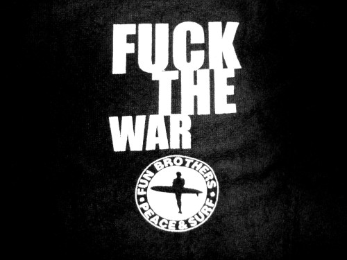fuck the war