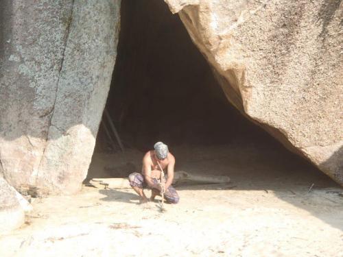 homem das cavernas