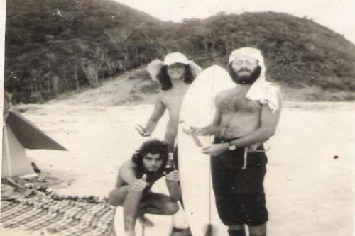 Pernanbuco beach 1971 Caetano Elias e Eu