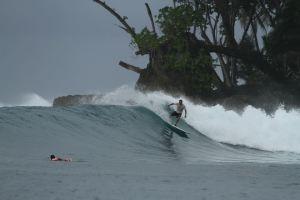 zeca overreef  Mentawai Island.